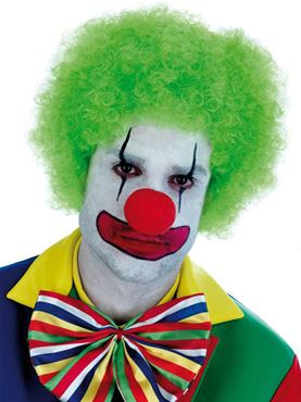 Adult Green Clown Wig