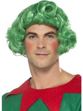 Adult Green Elf Wig