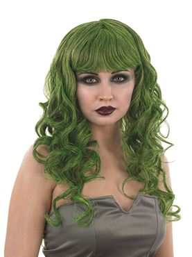 Adult Green Temptress Wig
