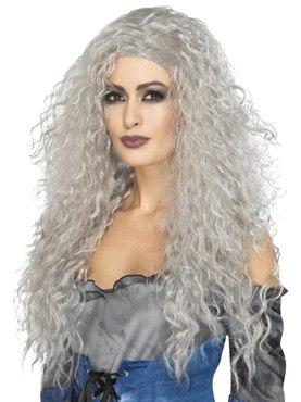 Adult Grey Banshee Wig