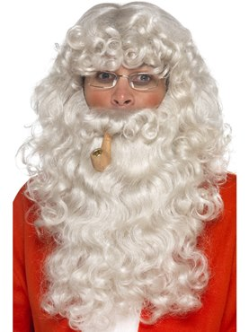 Adult Grey Santa Dress Up Kit