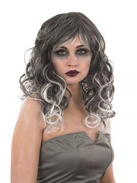Adult Grey Temptress Wig
