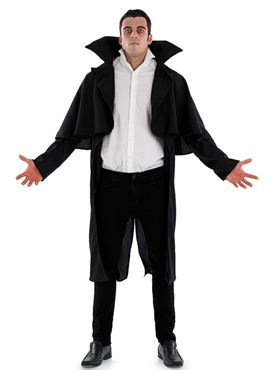 Adult Black Vampire Coat