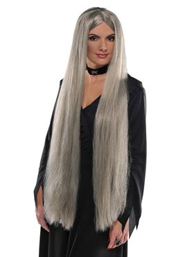 Adult Grey Witch Wig
