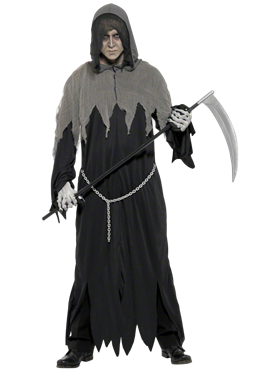 Adult Grim Reaper Costume Couples Costume