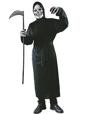 Adult Grim Reaper Horror Robe Costume