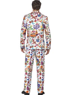 Adult Groovy Stand Out Suit - Side View