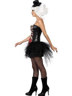 Adult Grotesque Burlesque Corset - Back View