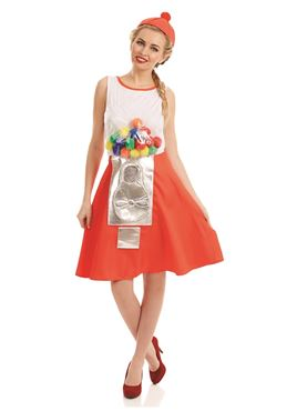 Adult Gumball Dress Costume