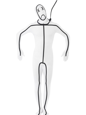 Adult Hangman Second Skin Costume