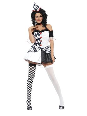 Adult Harlequin Female Costume