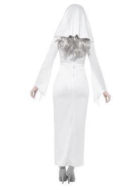 Adult Haunted Asylum Nun Costume - Side View