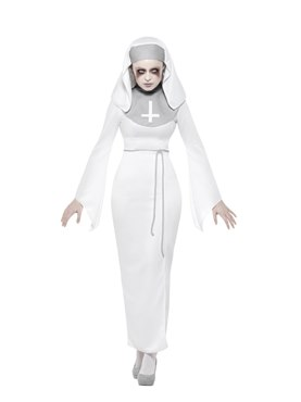 Adult Haunted Asylum Nun Costume