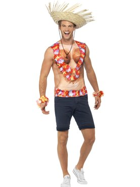 Adult Hawaiian Vest