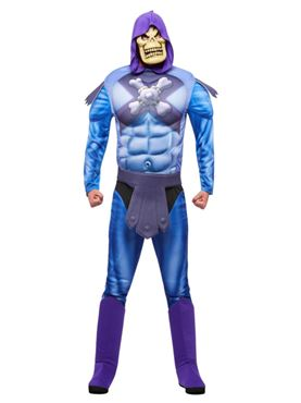 Adult He-Man Skeletor Costume with EVA Chest Couples Costume