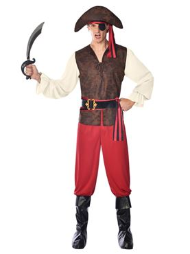 Adult High Seas Pirate Costume