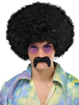 Adult Hippie Moustache