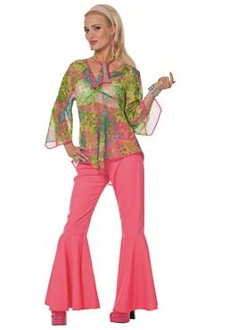 Adult Hippy Twirl Costume