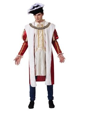 Adult Historical Royal King Costume