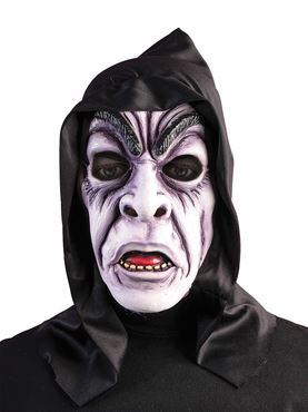 Adult Hooded Zombie Ghoul Mask