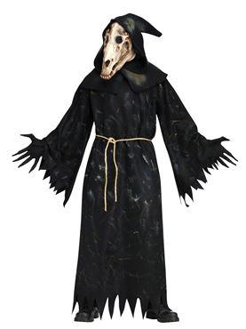 Adult Horse Skull Demon Costume