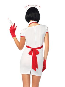 Adult Hospital Heartbreaker Costume - Back View
