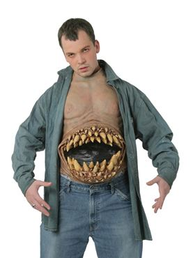Adult Deluxe Hunger Pains Chest Piece