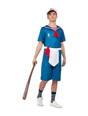 Adult Ice Cream Sailor Costume - Back View