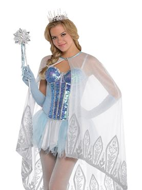 Adult Ice Fairy Cape