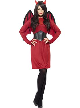 Adult Economy Devil Costume