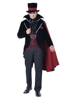 Adult Immortal Vampire Groom Costume Couples Costume