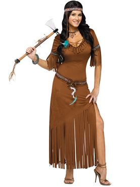 Adult Indian Summer Costume