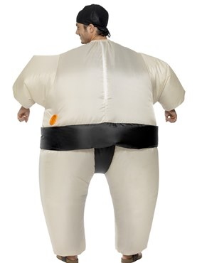 Adult Inflatable Sumo Wrestler Costume - Side View