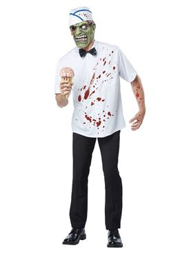 Adult I-Scream Man Costume