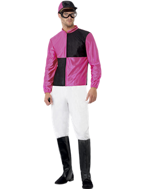 Adult Jockey Costume Couples Costume