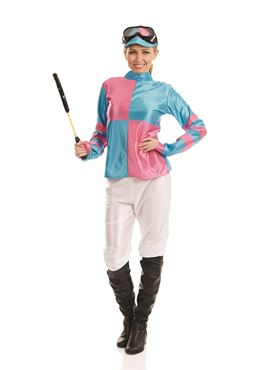 Adult Jockey Girl Costume