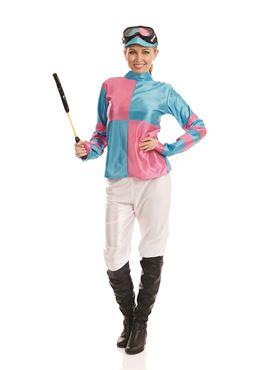 Adult Jockey Girl Costume
