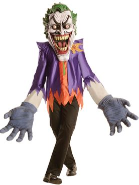 Adult Deluxe Joker Creature Reacher Costume