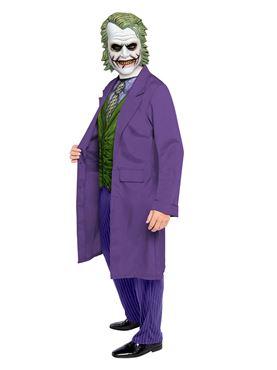 Adult Joker Movie Costume - Back View