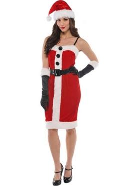 Adult Jolly Holly Santa Costume Thumbnail