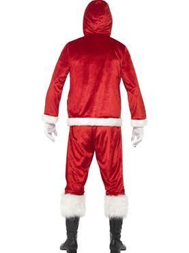 Adult Jolly Santa Costume - Side View