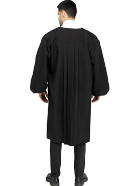 Adult Judge Robe Costume - Back View