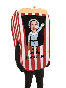 Adult Judy the Puppet Booth Costume Couples Costume