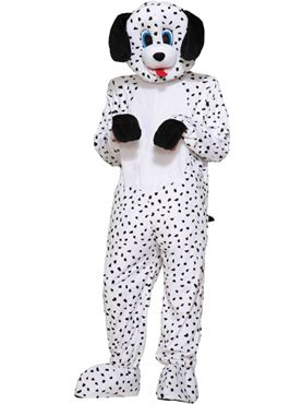 Adult Dalmatian Dotty Mascot Costume