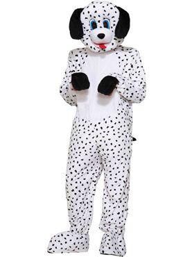 Adult Dalmatian Dotty Mascot Costume