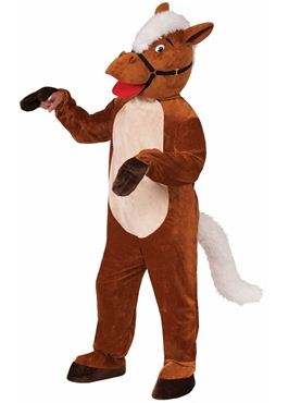 Adult Horse Henry Mascot Costume