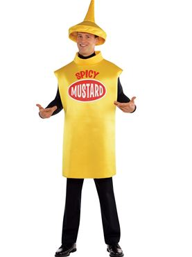 Adult Mustard Bottle Costume Couples Costume