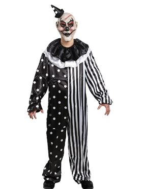 Adult Kill Joy Clown Costume