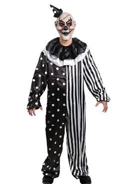 Adult Kill Joy Clown Costume