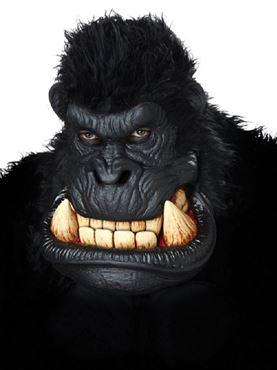 Adult Killa Gorilla Mask - Back View